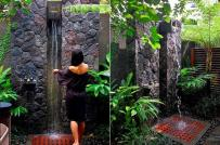 10 mẫu phòng tắm ngoài trời hòa lẫn vào thiên nhiên