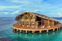 Khu nghỉ dưỡng nổi giữa biển sử dụng 100% năng lượng mặt trời sạch