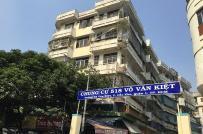 Tp.HCM di dời hàng trăm cư dân khỏi chung cư nghiêng 518 Võ Văn Kiệt