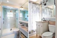 13 ý tưởng giải phóng không gian cho phòng tắm nhỏ trong những ngày Tết cận kề