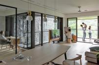 Thiết kế nhà phong cách mở của gia đình có 3 thế hệ cùng chung sống
