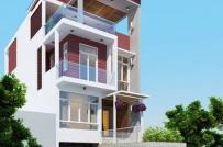 10 mẫu nhà phố 3 tầng 1 tum sẽ phổ biến trong năm 2019
