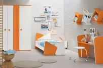 Những ý tưởng sử dụng màu sắc khéo léo trang trí phòng ngủ của trẻ