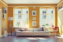 Trang trí nhà mùa xuân với những tông màu tươi sáng, tràn đầy sức sống