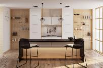 Loạt tủ bếp phù hợp với phong cách nội thất hiện đại