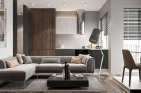 Học lỏm cách bài trí nội thất gọn đẹp, thông thoáng trong căn hộ 52m2