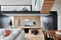 Không gian sống hiện đại trong ngôi nhà 2 tầng ở Australia