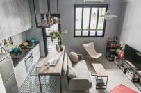 Căn hộ studio nhỏ được bài trí xinh xắn như căn hộ mẫu