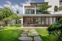 Mẫu biệt thự 2 tầng đơn giản dành cho những người yêu thiên nhiên