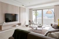Mẫu căn hộ tối giản, đầy đủ tiện nghi hiện đại