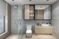 """""""Bí kíp"""" tối đa hóa không gian cho phòng tắm nhỏ"""