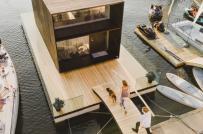 Mô hình nhà nổi có giá khởi điểm 55.000 USD, được lắp ráp trong 24 giờ
