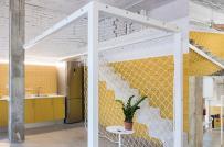 Tạo sự khác biệt cho không gian thư giãn với thiết kế sàn võng