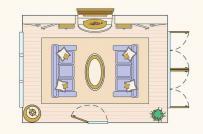 10 bản vẽ thiết kế phòng khách đáng để bạn tham khảo