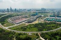 Giá đất shophouse tại khu Thủ Thiêm cao nhất là 373 triệu đồng/m2