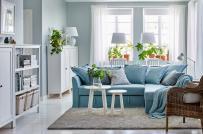 Gợi ý cách làm mới phòng khách mùa hè 2019