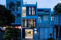 Nhà ống Sài Gòn xây trên mảnh đất 70m2 vẫn có bể bơi trong nhà