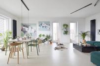 Thiết kế nội thất đơn giản, phối màu tinh tế trong căn hộ của cặp đôi mới cưới