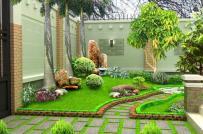 Những ý tưởng thiết kế sân trước nhà xanh mát, bình yên