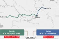 (Infographic) Cao tốc Hòa Bình - Mộc Châu được thực hiện như thế nào?