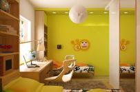 Những gam màu nào hợp với phòng trẻ em?