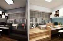 Bí quyết nới rộng không gian cho phòng ngủ nhỏ chật