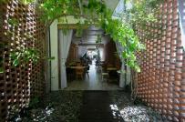 Tư vấn thiết kế nhà ở kết hợp quán cà phê trên khuôn đất xấu