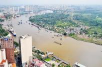 TP.HCM rà soát lại chức năng hơn 4.000 ha đất dọc sông Sài Gòn