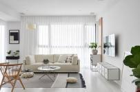 Học cách phối màu đen - trắng trong căn hộ phong cách Scandinavian