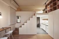 """""""Set up"""" nội thất vừa tiện vừa rẻ cho căn hộ 20m2"""