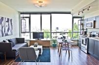 20 mẫu phòng khách liền bếp dễ ứng dụng cho không gian sống hiện đại