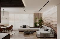 Sử dụng bảng màu trơn đơn giản, căn hộ vẫn đẹp hút mắt