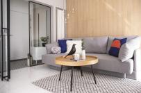 Tư vấn thiết kế nội thất căn hộ 53m2 tiện nghi dành cho gia đình trẻ