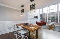 Kiến tạo không gian sống ấn tượng với nội thất gỗ mộc