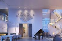 Không gian sống bên trong căn hộ 98 triệu đô ở New York