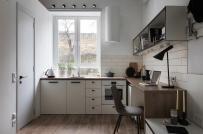 Thiết kế nội thất cực chất trong căn hộ 17m2