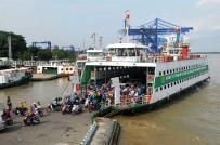 Hình ảnh nơi chuẩn bị xây cầu Cát Lái nối Đồng Nai và TP.HCM