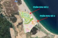 Một dự án tại Bình Định nhận đặt cọc giữ chỗ đất nền sai phép