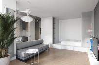 Bài trí nội thất thông minh, căn hộ 30m2 có tới 2 phòng ngủ