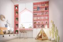 Những căn phòng cho trẻ được thiết kế đẹp mắt, phối màu tinh tế