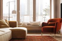 Ấn tượng căn hộ 123m2 sử dụng tông màu