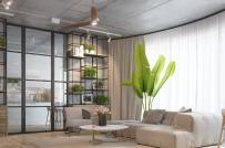 Nội thất truyền cảm hứng trong căn hộ phong cách công nghiệp