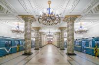 Vẻ đẹp lộng lẫy, tráng lệ bên trong các ga tàu điện ngầm