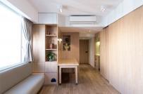 Mẫu thiết kế nội thất căn hộ siêu nhỏ nhìn là mê