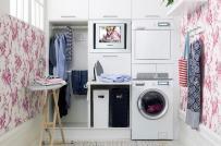 Những lưu ý khi thiết kế và bài trí phòng giặt căn hộ chung cư