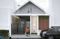 Tư vấn thiết kế nhà cấp 4 diện tích 5x10m gồm 2 phòng ngủ