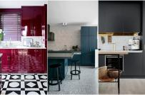 Cách phối màu sơn với nội thất phòng bếp