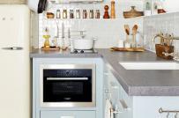 Mẹo bài trí nội thất xua tan vẻ chật chội, bí bức của phòng bếp nhỏ