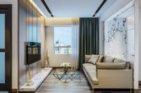 Tham khảo mẫu thiết kế nội thất căn hộ tập thể 52m2