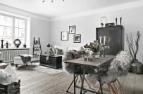 Bài trí nội thất tinh tế trong căn hộ phong cách Scandinavian